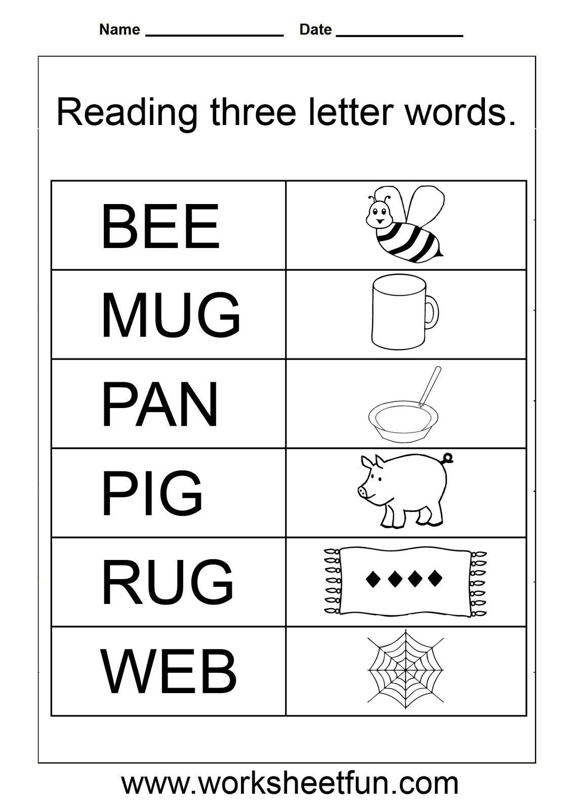 Simple Worksheets For Kindergarten – With Math Fractions Also Free | Homeschool Printable Worksheets Kindergarten