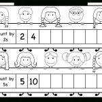 Skip Counting2 And 5 – Worksheet / Free Printable Worksheets   Free | Free Printable Skip Counting Worksheets