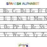 Spanish Alphabet Worksheets | Free Printables Worksheet   Free | Spanish Alphabet Worksheet Printable