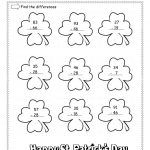 St. Patrick's Day Lesson Plans, Themes, Printouts, Crafts | Free Printable St Patrick Day Worksheets