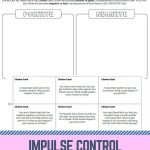 Stop And Think | Work | Counseling Activities, School Social Work | Free Printable Self Control Worksheets