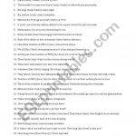 Subject Verb Agreement   Esl Worksheetsothol | Free Printable Subject Verb Agreement Worksheets