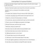 Subject Verb Agreement Worksheets | Englishlinx Board | Pronoun | Free Printable Subject Verb Agreement Worksheets