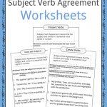 Subject Verb Agreement Worksheets | Kidskonnect | Free Printable Subject Verb Agreement Worksheets