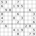 Sudoku   Wikipedia   Free Printable Sudoku Puzzles | Free Printables | Printable Sudoku Worksheets