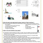 Symbols Of The Usa Worksheet   Free Esl Printable Worksheets Made | Usa Worksheets Printables
