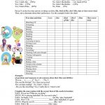 Talking About Likes And Dislikes Worksheet   Free Esl Printable | Likes And Dislikes Worksheets Printable
