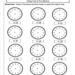 Telling And Writing Time Worksheets | Free Printable Telling Time Worksheets