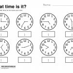 Telling Time Worksheets Grade 3 | Lostranquillos   Free Printable | Free Printable Telling Time Worksheets