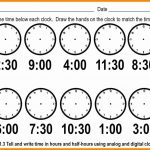 Telling Time Worksheets Printable – Worksheet Template   Free | Free Printable Telling Time Worksheets