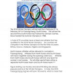 The 2018 Winter Olympics Worksheet   Free Esl Printable Worksheets | Olympic Printable Worksheets