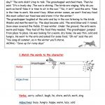 The Ants And The Grasshopper  Fable Worksheet   Free Esl Printable | Ant Worksheets Printables