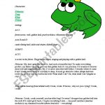 The Frog Prince, Play Script   Esl Worksheetjooblack | The Frog Prince Worksheets Printable