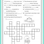 The Frog Prince Puzzle Fun | Creative Teaching! | Frog Theme | The Frog Prince Worksheets Printable