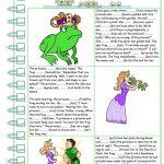 The Frog Prince Worksheet   Free Esl Printable Worksheets Made | The Frog Prince Worksheets Printable