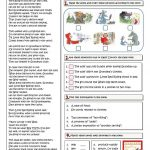 The Little Red Riding Hood And The Wolf Worksheet   Free Esl | Little Red Riding Hood Worksheets Printable