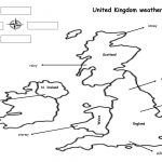 The Weather Map Worksheet   Free Esl Printable Worksheets Made | Free Printable Weather Map Worksheets