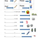 This, That, These, Those Worksheet   Free Esl Printable Worksheets | This That These Those Worksheets Printable