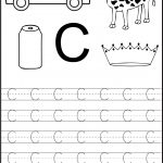 Trace The Letter C Worksheets | Alphabet And Numbers Learning | Free Printable Letter C Worksheets