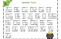 Traceable Abc Printable Worksheets