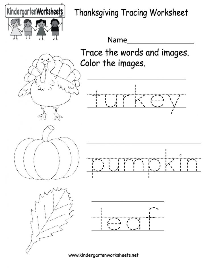 Free Printable Preschool Thanksgiving Worksheets