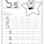 Tracing Names Luxury Printable Letter S Tracing Worksheets For | Printable Name Tracing Worksheets