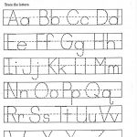 Tracing Papers For Kindergarten   Koran.sticken.co | Free Printable Abc Tracing Worksheets