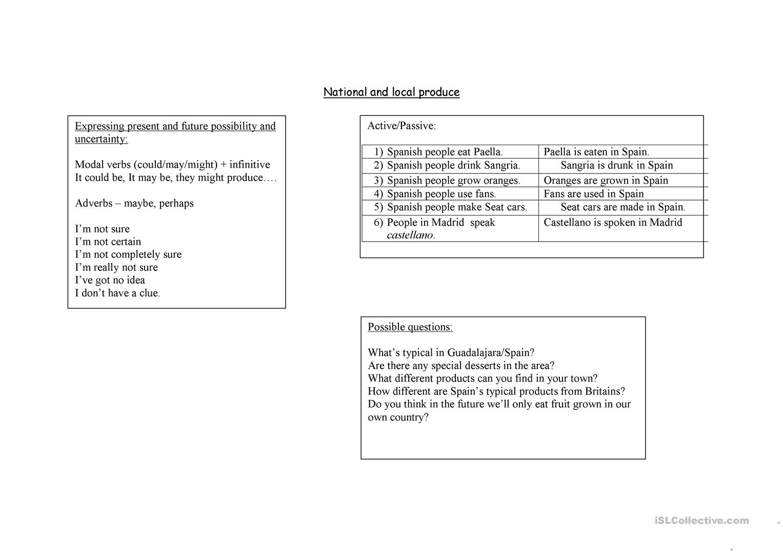 Trinity Gese Grade 7 Revision Worksheet - Free Esl Printable   Grade 7 Vocabulary Worksheets Printable