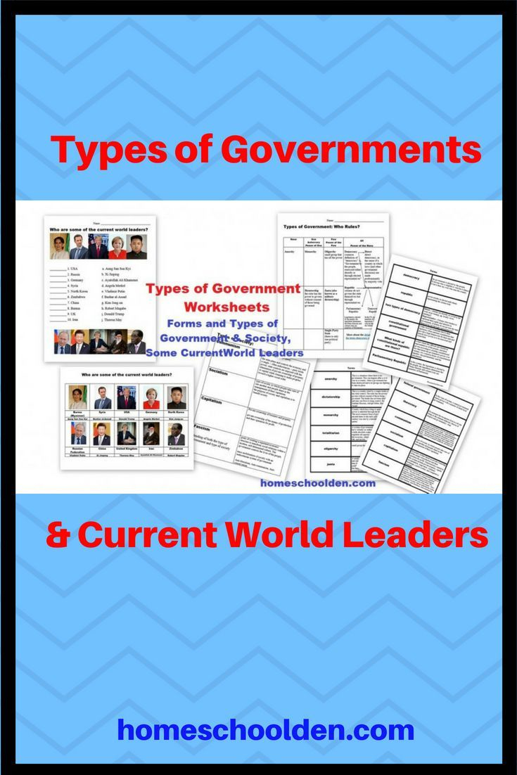Types Of Government, Societies, World Governments Printables These | Types Of Government Worksheets Printable