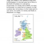 Uk Weather Report Worksheet   Free Esl Printable Worksheets Made | Free Printable Weather Map Worksheets