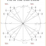 Unit Circle Chart Blank Unit Circle Chart Printable Fill In The Unit | Free Printable Pie Graph Worksheets