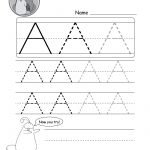 Uppercase Letter Tracing Worksheets (Free Printables)   Doozy Moo | Free Printable Abc Tracing Worksheets