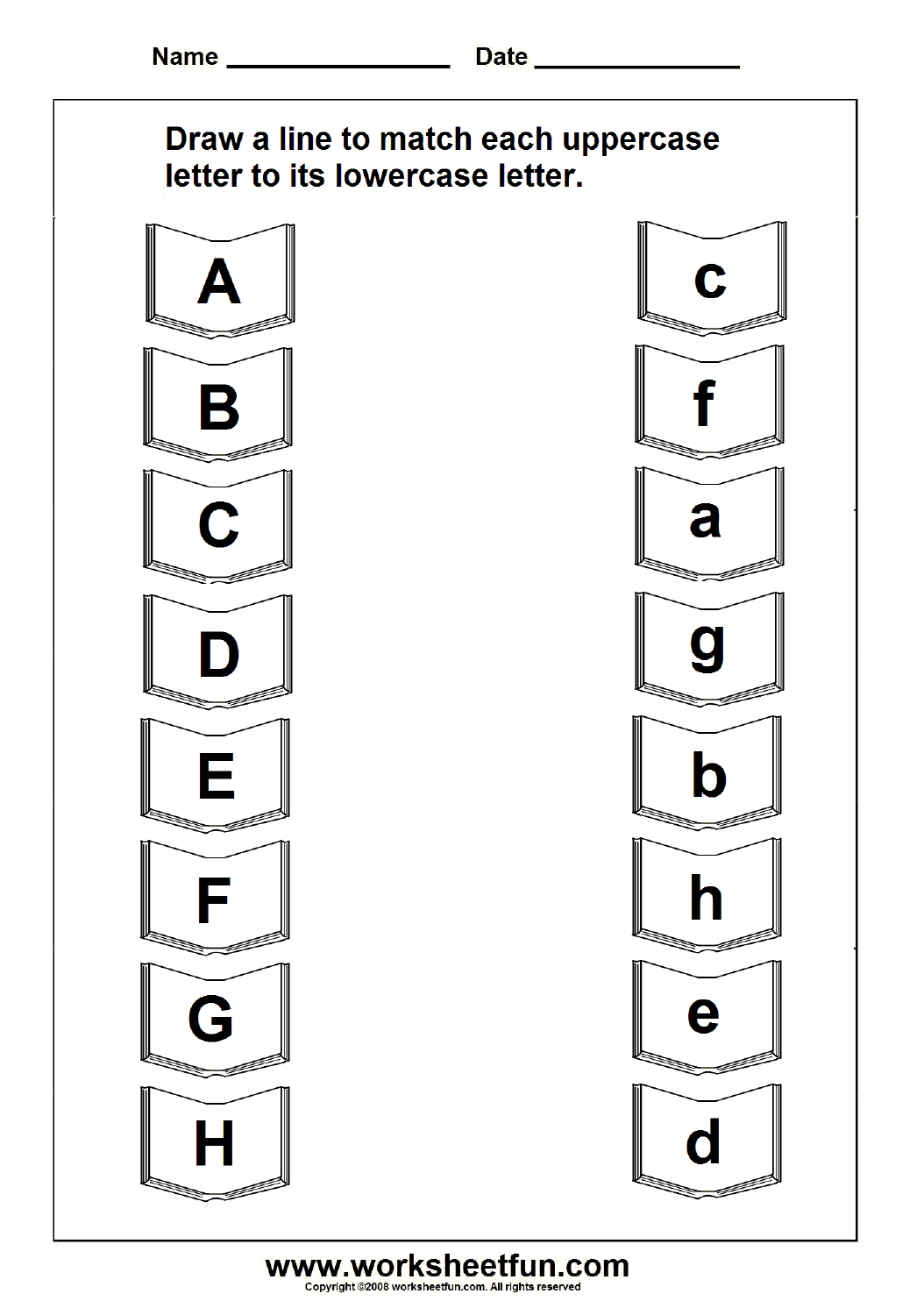 Uppercase Lowercase Letter | Education | Letter Worksheets, Free | Free Printable Upper And Lowercase Letters Worksheets