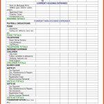 Vacation Budget Worksheet Unique Rental Property Expensessheet Nz In | Vacation Budget Worksheet Printable