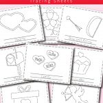 Valentines Day Printable Tracing Activity   Messy Little Monster | Printable Pencil Control Worksheets