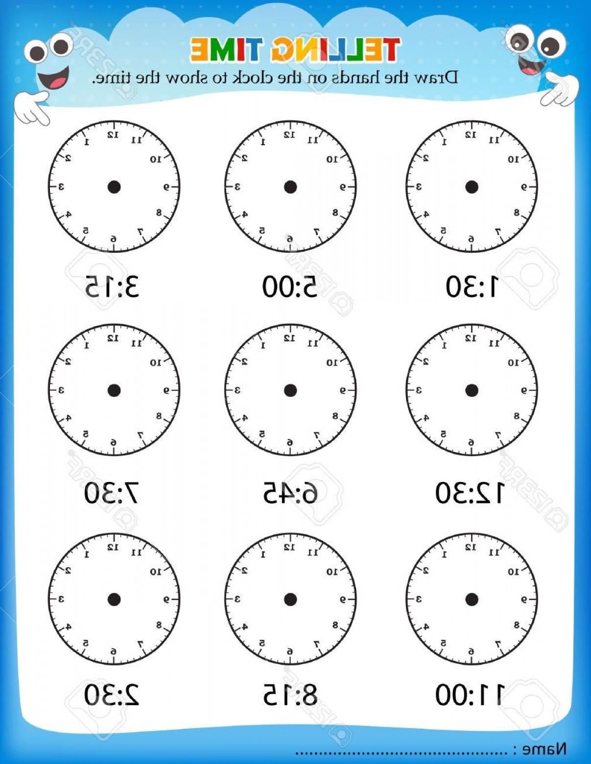Vector Addition Worksheet Answers Best Of Telling Time Worksheets | Free Printable Time Worksheets For Kindergarten