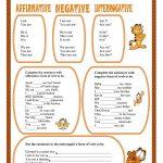 Verb To Be Worksheet   Free Esl Printable Worksheets Madeteachers | To Be Worksheets Printable