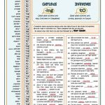 Verbs Followedgerund Or Infinitive Worksheet   Free Esl | Advanced Esl Grammar Printable Worksheets