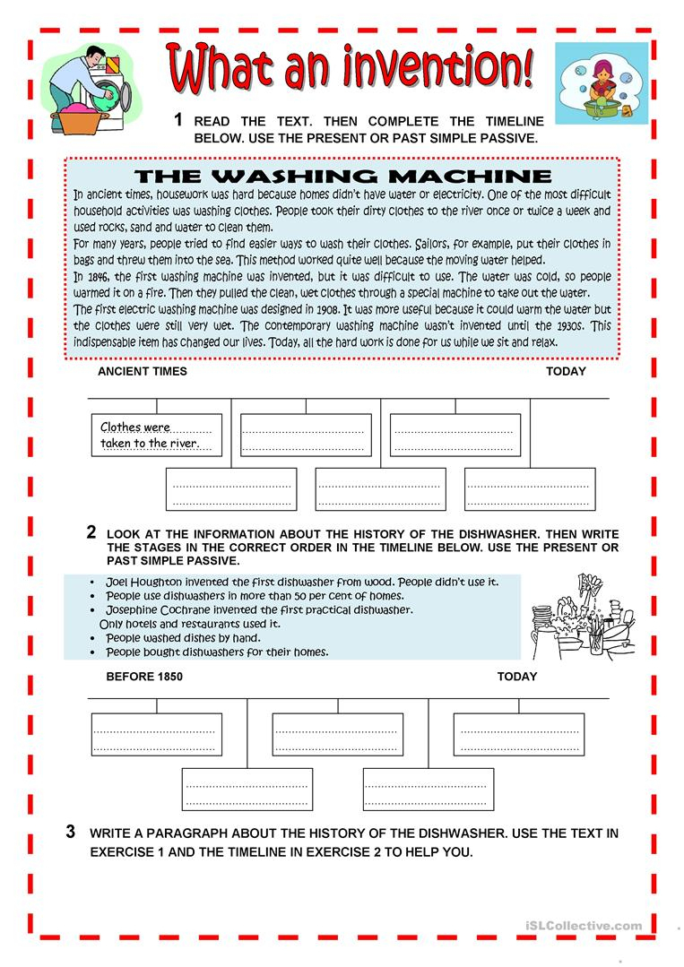 What An Invention Worksheet - Free Esl Printable Worksheets Made | Inventions Printable Worksheets