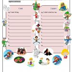 What Did You Do In Winter Holiday? Worksheet   Free Esl Printable | Winter Holidays Worksheets Printables