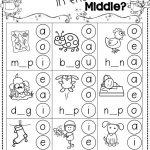 Winter Activities For Kindergarten Free   Kindergarten Literacy   Free Printable Phoneme Segmentation Worksheets