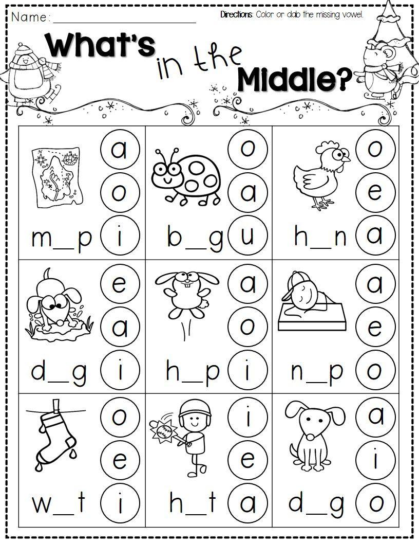 Winter Activities For Kindergarten Free | Winter Theme | Free Printable Winter Preschool Worksheets