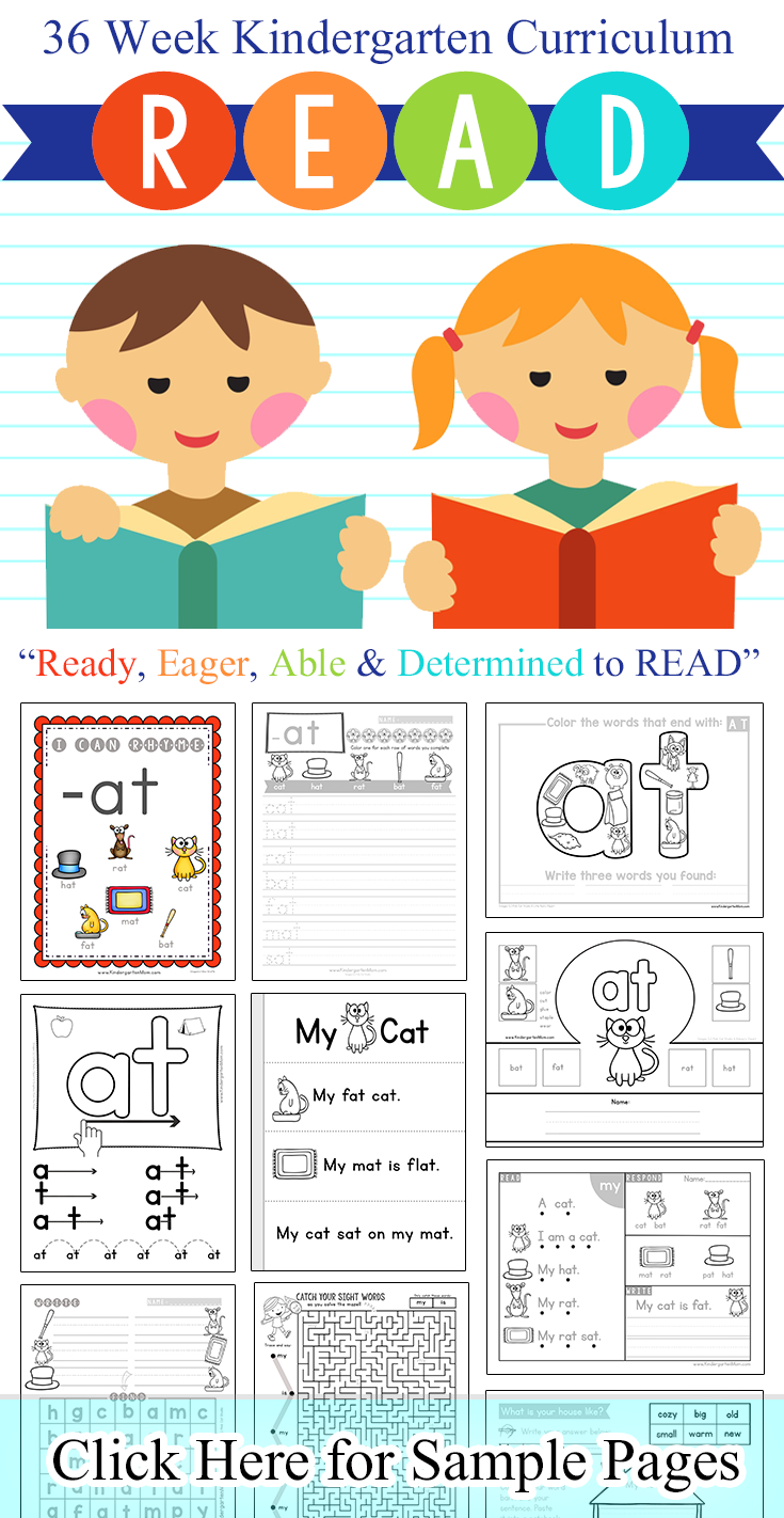 Word Family Printables - Kindergarten Mom | Free Printable Word Family Worksheets For Kindergarten