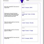 Word Problems | 3Rd Grade Multiplication Word Problems Worksheets Printable