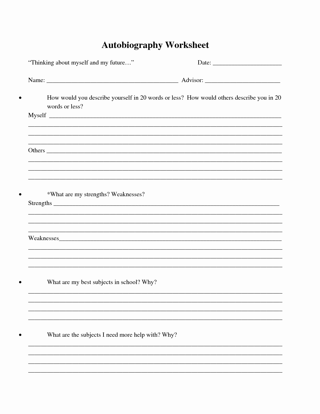 Worksheet : Bio Poem Examples For Kids New Best S Of Printable | Printable Biography Worksheets