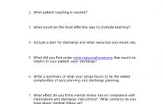 Printable Mental Health Worksheets