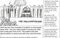 Worksheet : Miracles Of Jesus For Kids Worksheets Musalla Kidz | Printable Worksheets Miracles Jesus