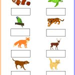 Worksheet   Tamil Animals Keywords: Free, Printable, Pdf | Free | Animal Sounds Printable Worksheets