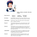 Worksheets Ameleia Bedelia | Amelia Bedelia Reader's Theater | Amelia Bedelia Printable Worksheets
