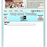 Write A Blog Entry Worksheet   Free Esl Printable Worksheets Made | Blog Worksheet Printable
